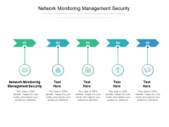 Network Monitoring Management Security Ppt PowerPoint Presentation Summary Clipart Images Cpb