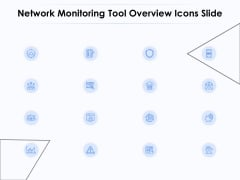 Network Monitoring Tool Overview Icons Slide Ppt PowerPoint Presentation Summary Infographics PDF