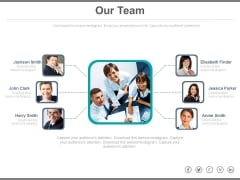 Network Of Teams For Business Projects Powerpoint Slides