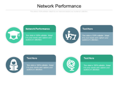 Network Performance Ppt PowerPoint Presentation Ideas Cpb