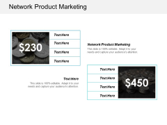 Network Product Marketing Ppt PowerPoint Presentation Summary Show Cpb