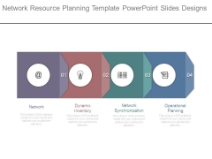 Network Resource Planning Template Powerpoint Slides Designs