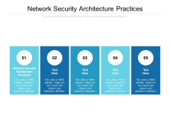 Network Security Architecture Practices Ppt PowerPoint Presentation Gallery Infographics Cpb