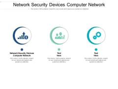 Network Security Devices Computer Network Ppt PowerPoint Presentation Visual Aids Background Images Cpb Pdf