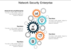 Network Security Enterprise Ppt Powerpoint Presentation Infographics Templates Cpb