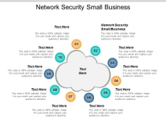 Network Security Small Business Ppt PowerPoint Presentation Gallery Ideas Cpb
