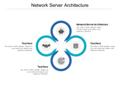 Network Server Architecture Ppt PowerPoint Presentation Summary Show Cpb