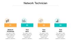 Network Technician Ppt PowerPoint Presentation File Slide Cpb