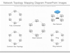 Network Topology Mapping Diagram Powerpoint Images