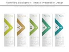 Networking Development Template Presentation Design