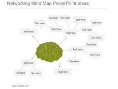 Networking Mind Map Powerpoint Ideas