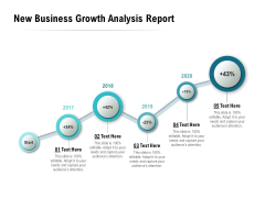 New Business Growth Analysis Report Ppt PowerPoint Presentation Clipart