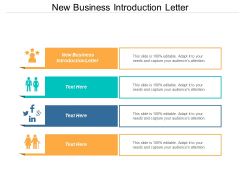 New Business Introduction Letter Ppt PowerPoint Presentation Infographic Template Graphics Design