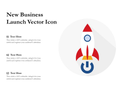 New Business Launch Vector Icon Ppt PowerPoint Presentation File Outline PDF