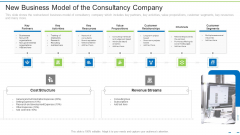 New Business Model Of The Consultancy Company Ppt Model Professional PDF
