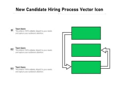 New Candidate Hiring Process Vector Icon Ppt PowerPoint Presentation Gallery Samples PDF