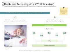 New Client Onboarding Automation Blockchain Technology For KYC Utilities Client Ppt Pictures Slide Portrait PDF