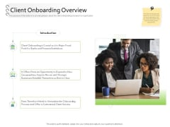 New Client Onboarding Automation Client Onboarding Overview Ppt Infographic Template Show PDF