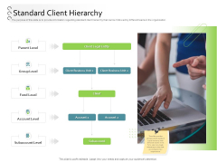 New Client Onboarding Automation Standard Client Hierarchy Ppt Summary Model PDF