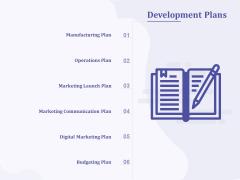 New Commodity Building Procedure Development Plans Ppt Icon Aids PDF