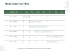 New Commodity Modification Scheme Manufacturing Plan Ppt Layouts Pictures PDF