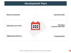 New Commodity Presenting Initiatives Development Plans Ppt Portfolio