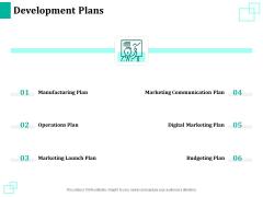 New Commodity Reveal Initiative Development Plans Ppt Professional Show PDF