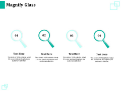 New Commodity Reveal Initiative Magnify Glass Ppt Ideas Elements PDF