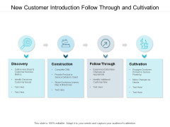 New Customer Introduction Follow Through And Cultivation Ppt PowerPoint Presentation Portfolio Example Introduction