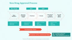 New Drug Development And Review Process New Drug Approval Process Brochure PDF