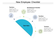 New Employee Checklist Ppt PowerPoint Presentation Outline Ideas Cpb