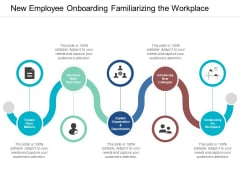 New Employee Onboarding Familiarizing The Workplace Ppt PowerPoint Presentation Model Smartart