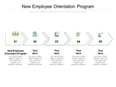 New Employee Orientation Program Ppt PowerPoint Presentation Professional Themes Cpb