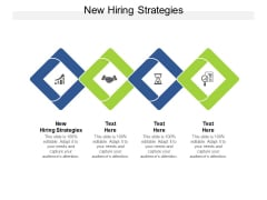 New Hiring Strategies Ppt PowerPoint Presentation Ideas Format Cpb