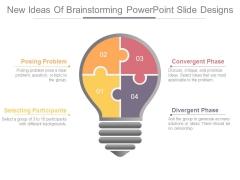 New Ideas Of Brainstorming Powerpoint Slide Designs