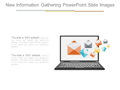 New Information Gathering Powerpoint Slide Images