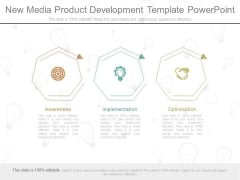 New Media Product Development Template Powerpoint