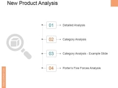 New Product Analysis Ppt PowerPoint Presentation Model Mockup