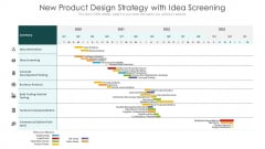 New Product Design Strategy With Idea Screening Ppt Professional Picture PDF