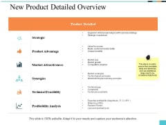 New Product Detailed Overview Ppt PowerPoint Presentation Gallery Inspiration
