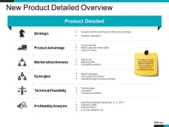 New Product Detailed Overview Ppt PowerPoint Presentation Infographics Templates