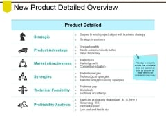 New Product Detailed Overview Ppt PowerPoint Presentation Outline Styles