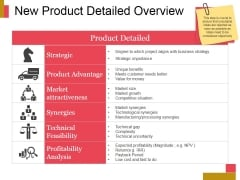 New Product Detailed Overview Ppt PowerPoint Presentation Slides