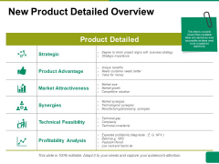 New Product Detailed Overview Ppt PowerPoint Presentation Styles Layout Ideas