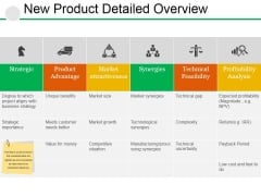New Product Detailed Overview Ppt PowerPoint Presentation Summary Brochure