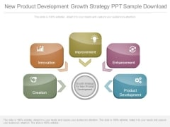 New Product Development Growth Strategy Ppt Sample Download