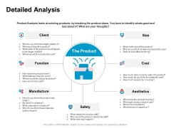 New Product Development Performance Evaluation Detailed Analysis Cost Ppt PowerPoint Presentation Professional Brochure PDF