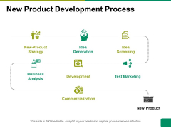 New Product Development Process Ppt PowerPoint Presentation Pictures Sample