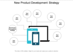 New Product Development Strategy Ppt PowerPoint Presentation Outline Deck Cpb