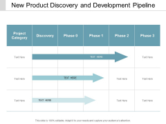 New Product Discovery And Development Pipeline Ppt Powerpoint Presentation Summary Inspiration